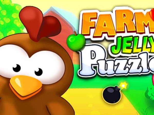 Bild zu Denken-Spiel Farm Jelly Puzzle
