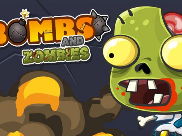 Bild zu Strategie-Spiel Bombs and Zombies