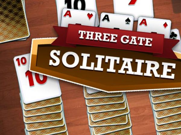 Bild zu Denken-Spiel Three Gates Solitaire