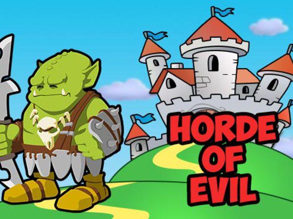 Bild zu HTML5-Spiel Horde of Evil
