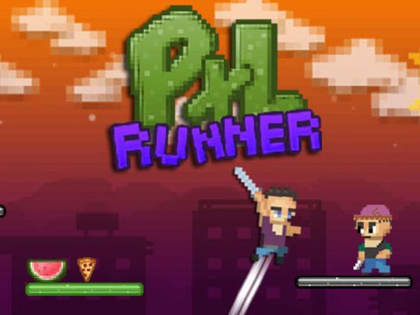 Bild zu Geschick-Spiel Pixel Runner