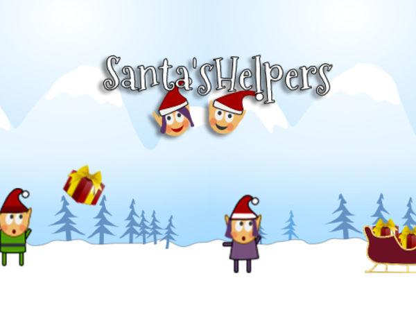 Bild zu Geschick-Spiel Santas Helpers