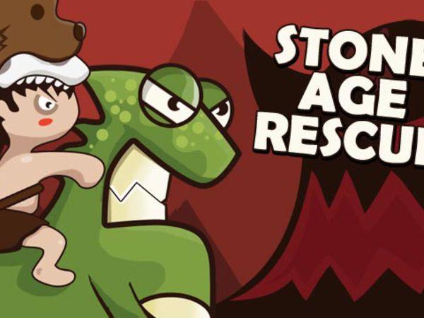 Bild zu Geschick-Spiel Stone age Rescue