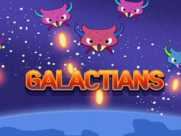 Bild zu Geschick-Spiel Galactians