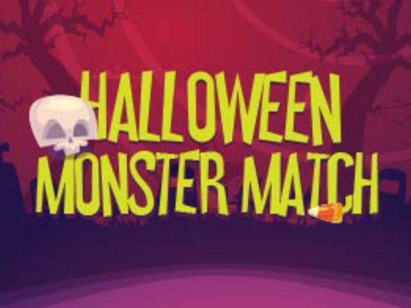 Bild zu Denken-Spiel Halloween Monster Match