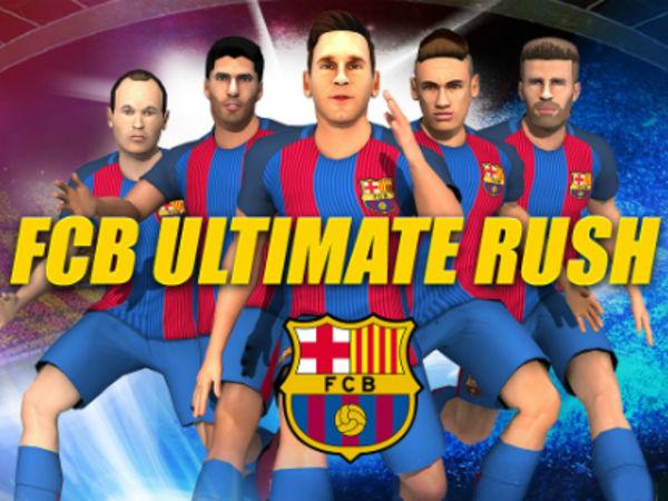 Bild zu Geschick-Spiel FC Barcelona Ultimate Rush