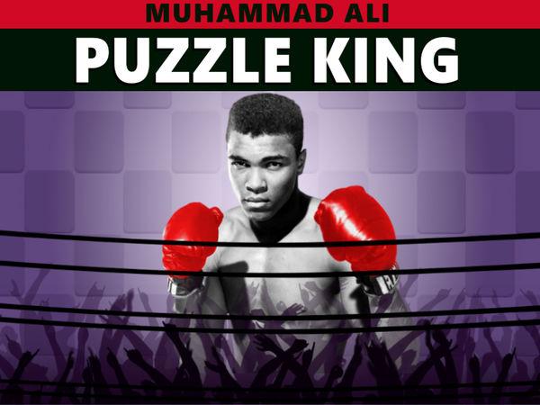 Bild zu Denken-Spiel Muhammad Ali Puzzle King