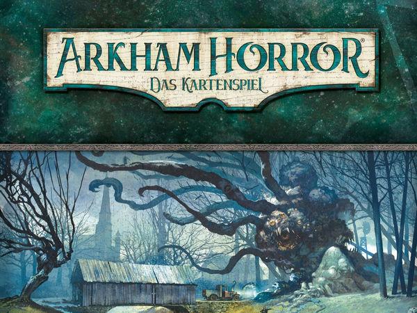 Bild zu Frühjahrs-Neuheiten-Spiel Arkham Horror: Das Kartenspiel - Das Vermächtnis von Dunwich