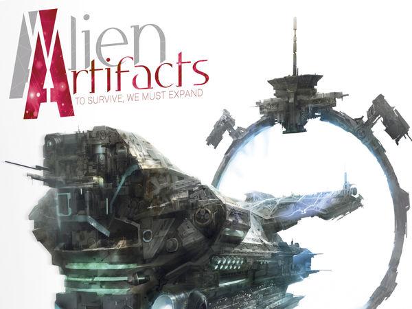 Bild zu Alle Brettspiele-Spiel Alien Artifacts