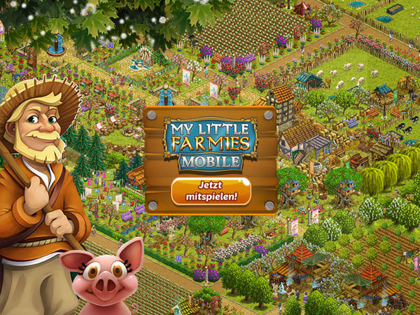 Bild zu Top-Spiel My little Farmies Mobile