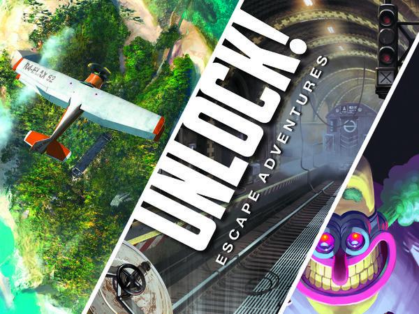 Bild zu Alle Brettspiele-Spiel Unlock!