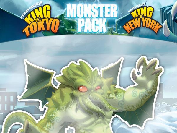 Bild zu Alle Brettspiele-Spiel King of Tokyo/New York: Monster Pack - Cthulhu