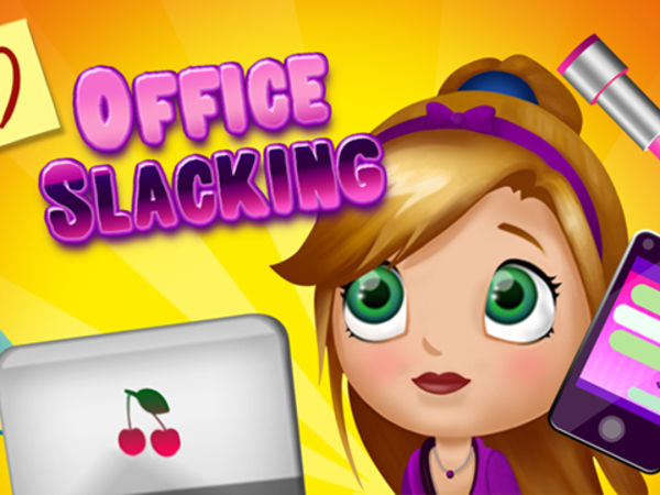 Bild zu Mädchen-Spiel Office Slacking