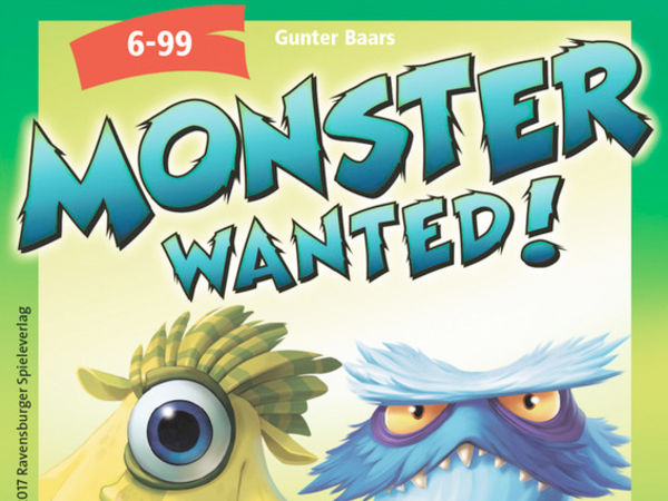 Bild zu Alle Brettspiele-Spiel Monster Wanted!