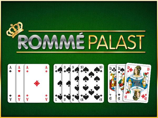 Bild zu Klassiker-Spiel Rommé-Palast