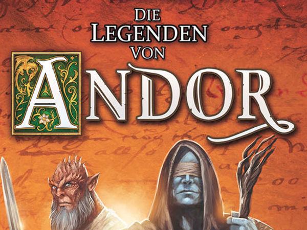 Bild zu Alle Brettspiele-Spiel Die Legenden von Andor: Dunkle Helden