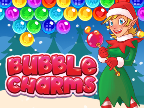 Bild zu HTML5-Spiel Bubble Charms Christmas