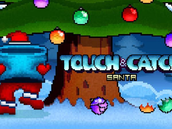 Bild zu Geschick-Spiel Touch and Catch Santa