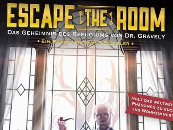 Bild zu Alle Brettspiele-Spiel Escape the Room: Das Geheimnis des Refugiums von Dr. Gravely