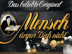 Mensch ärgere Dich nicht - Schwarze Edition