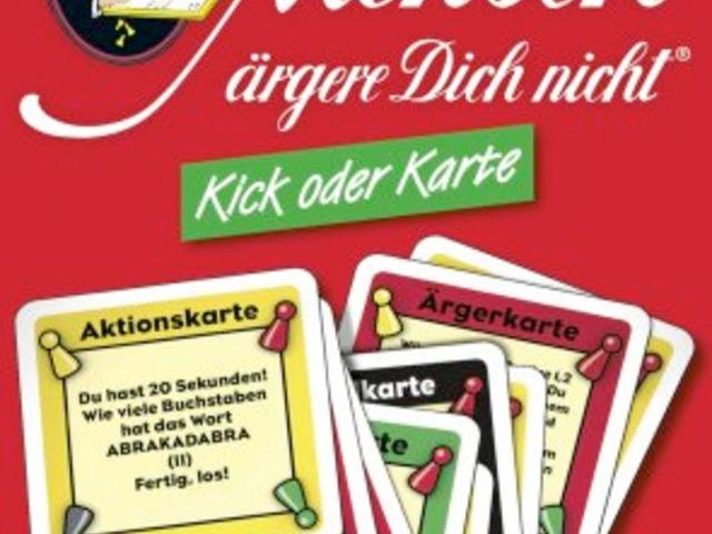 Mensch ärgere Dich nicht! Kick oder Karte – Ergänzungspackung Bild 1