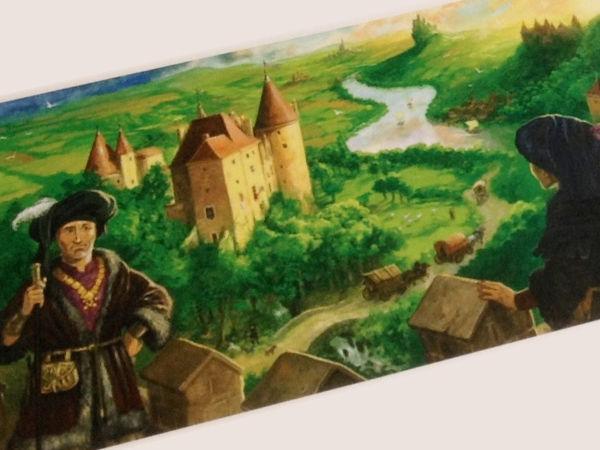 Bild zu Frühjahrs-Neuheiten-Spiel Die Burgen von Burgund: Handelsrouten