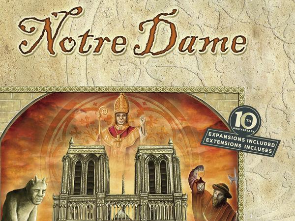 Bild zu Alle Brettspiele-Spiel Notre Dame: Jubiläumsausgabe