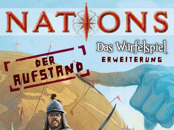 Bild zu Alle Brettspiele-Spiel Nations: Das Würfelspiel - Der Aufstand