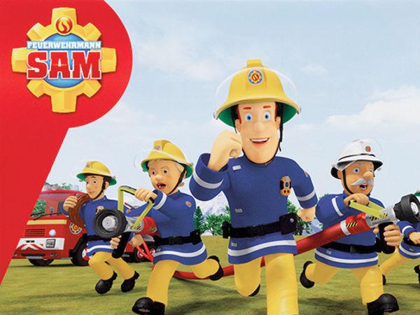 Bild zu Alle Brettspiele-Spiel Feuerwehrmann Sam: Wasser Marsch!