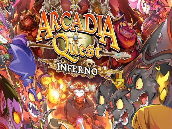 Bild zu Alle Brettspiele-Spiel Arcadia Quest: Inferno