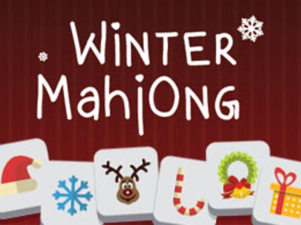 Bild zu Denken-Spiel Winter Mahjong