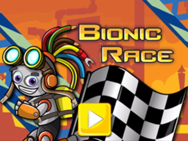 Bild zu Geschick-Spiel Bionic Race