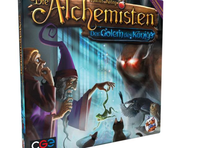 Die Alchemisten: Der Golem des Königs Bild 1