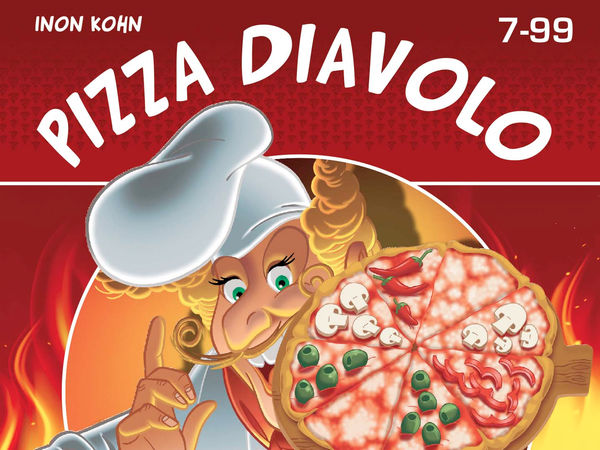 Bild zu Alle Brettspiele-Spiel Pizza Diavolo