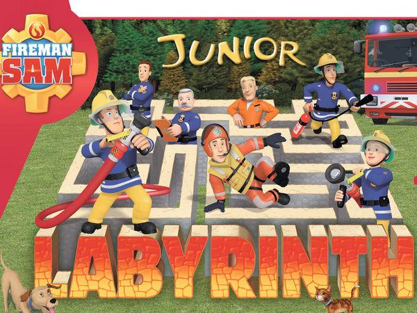 Bild zu Alle Brettspiele-Spiel Feuerwehrmann Sam: Junior Labyrinth