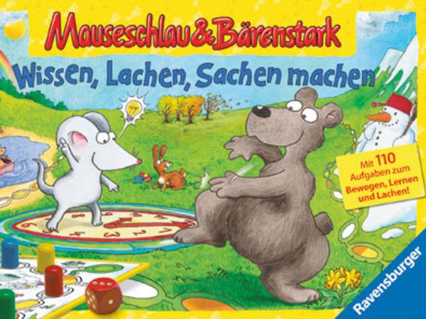 Bild zu Alle Brettspiele-Spiel Mauseschlau & Bärenstark: Wissen, Lachen, Sachen machen