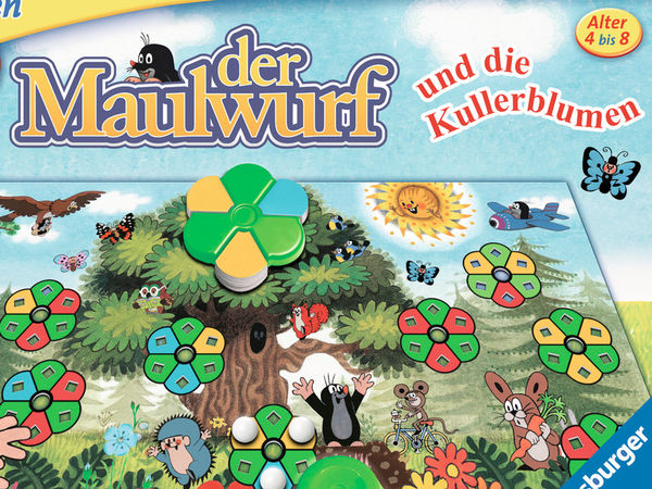 Bild zu Alle Brettspiele-Spiel Der Maulwurf und die Kullerblumen
