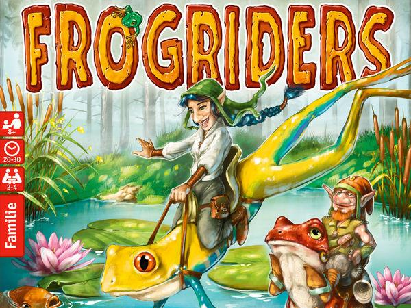 Bild zu Alle Brettspiele-Spiel Frogriders
