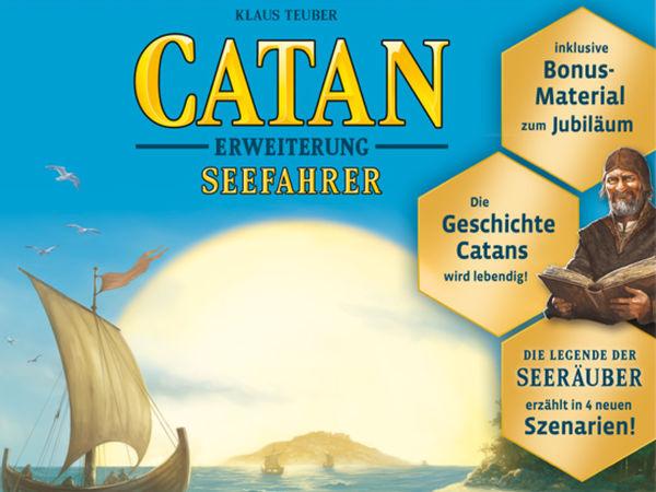 Bild zu Alle Brettspiele-Spiel Catan: Erweiterung - Seefahrer - Jubiläumsedition