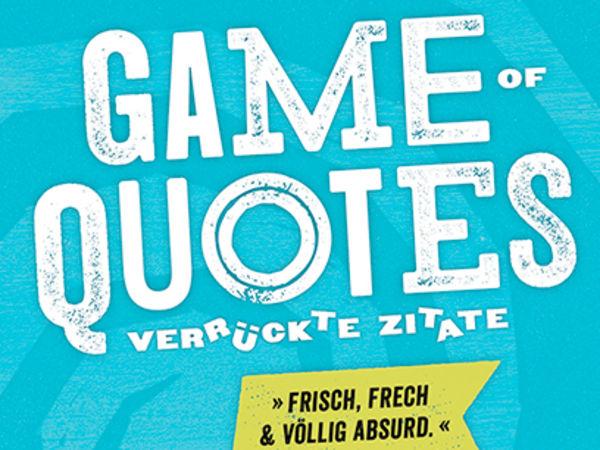 Bild zu Alle Brettspiele-Spiel Game of Quotes: Verrückte Zitate