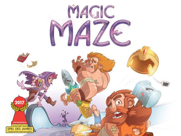 Bild zu Ausgezeichnet 2017-Spiel Magic Maze
