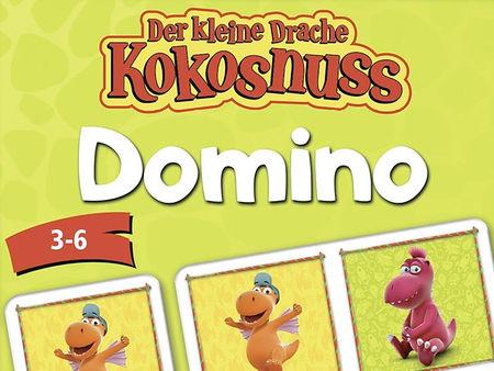 Der kleine Drache Kokosnuss - Domino