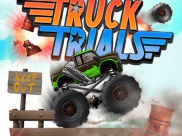 Bild zu Rennen-Spiel Truck Trials
