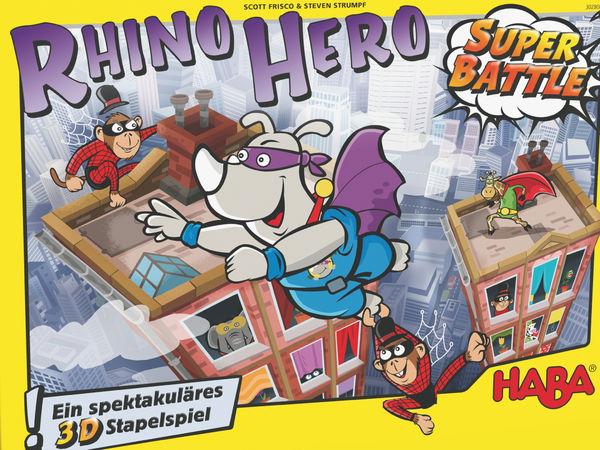 Bild zu Spiel des Jahres-Spiel Rhino Hero: Super Battle
