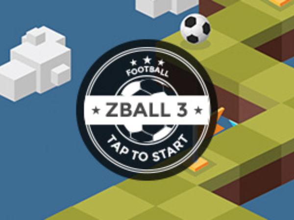 Bild zu Geschick-Spiel zBall 3 - Football