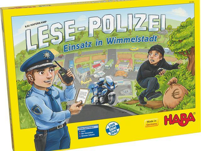 Lese-Polizei: Einsatz in Wimmelstadt Bild 1