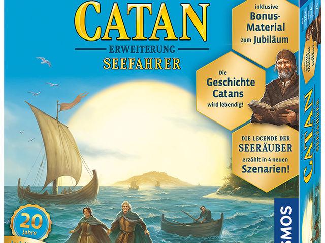 Catan: Erweiterung - Seefahrer - Jubiläumsedition Bild 1