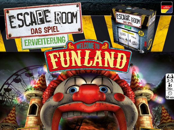 Bild zu Alle Brettspiele-Spiel Escape Room: Das Spiel - Funland