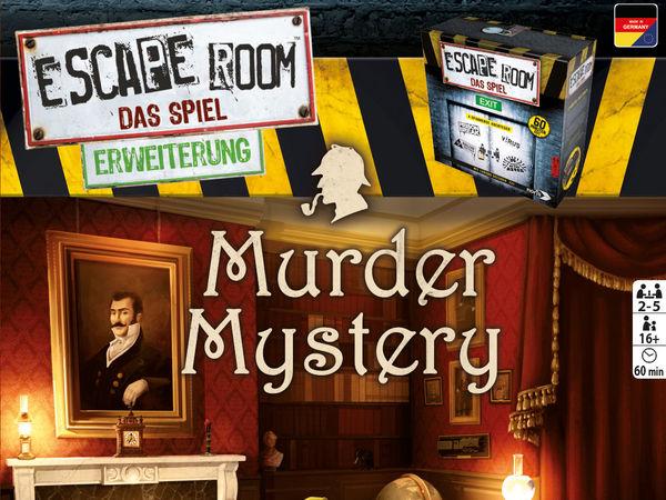 Bild zu Alle Brettspiele-Spiel Escape Room: Das Spiel - Murder Mystery