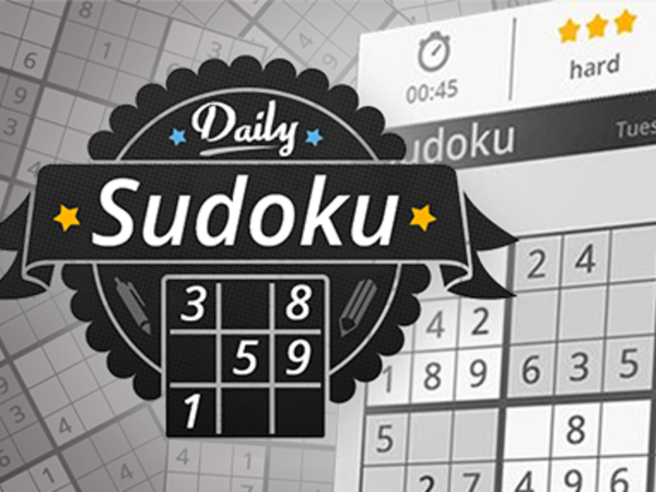 Bild zu Denken-Spiel Daily Sudoku
